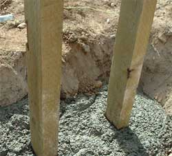 Factors that are important for Concrete Fence Post Drying Times